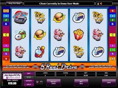 5 Reel Drive Casino Bonuses Slots