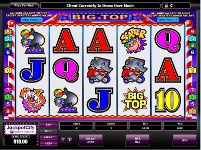 Big Top Online Slots