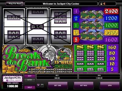 Free Games Slots Break da Bank