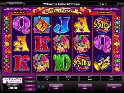 New Games Carnaval Slots
