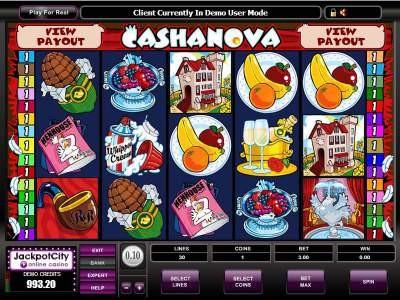 Cashanova New Games Slots
