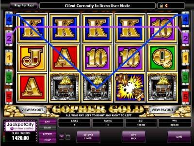 Gopher Gold Arcade Slots