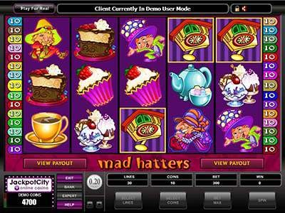 Mad Hatters Slots