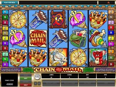 Chain Mail™ Slot Machine Game to Play Free in Microgamings Online Casinos