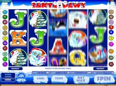 Santa Paws Slots Games