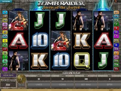 Tomb Raider 2 Slots
