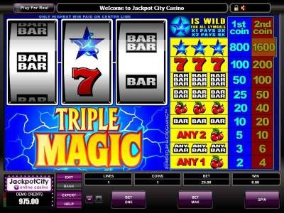 Game Triple Magic Slots