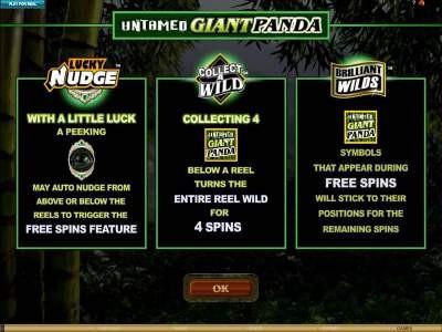 Untamed Giant Panda Slots Online