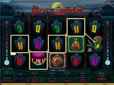 Alaxe in Zombieland Online Free Slots