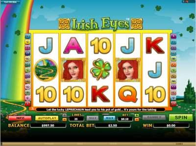 Slot Machine Irish Eyes