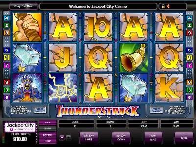 Free Fun Games Thunderstruck Slots